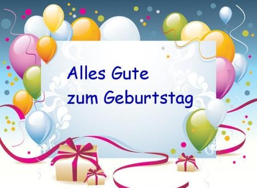 zyczenia urodzinowe po niemiecku