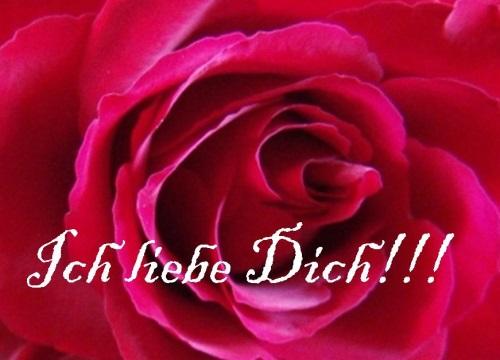 zyczenia walentynkowe po niemiecku